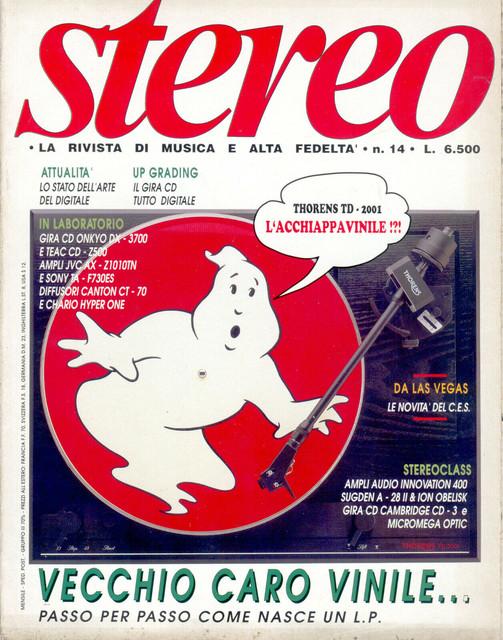 Il VINTAGE HI-FI nelle Riviste audio Stereo-n-14-Marzo-1990