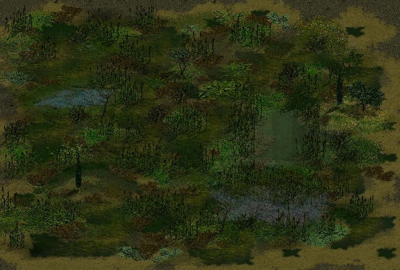 Мануал по созданию болот в Sudden Strike