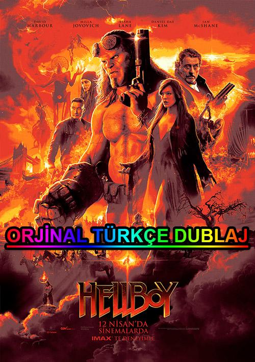 Hellboy | 2019 | BDRip | XviD | Türkçe Dublaj | m720p - m1080p | BluRay | Dual | TR-EN | Tek Link