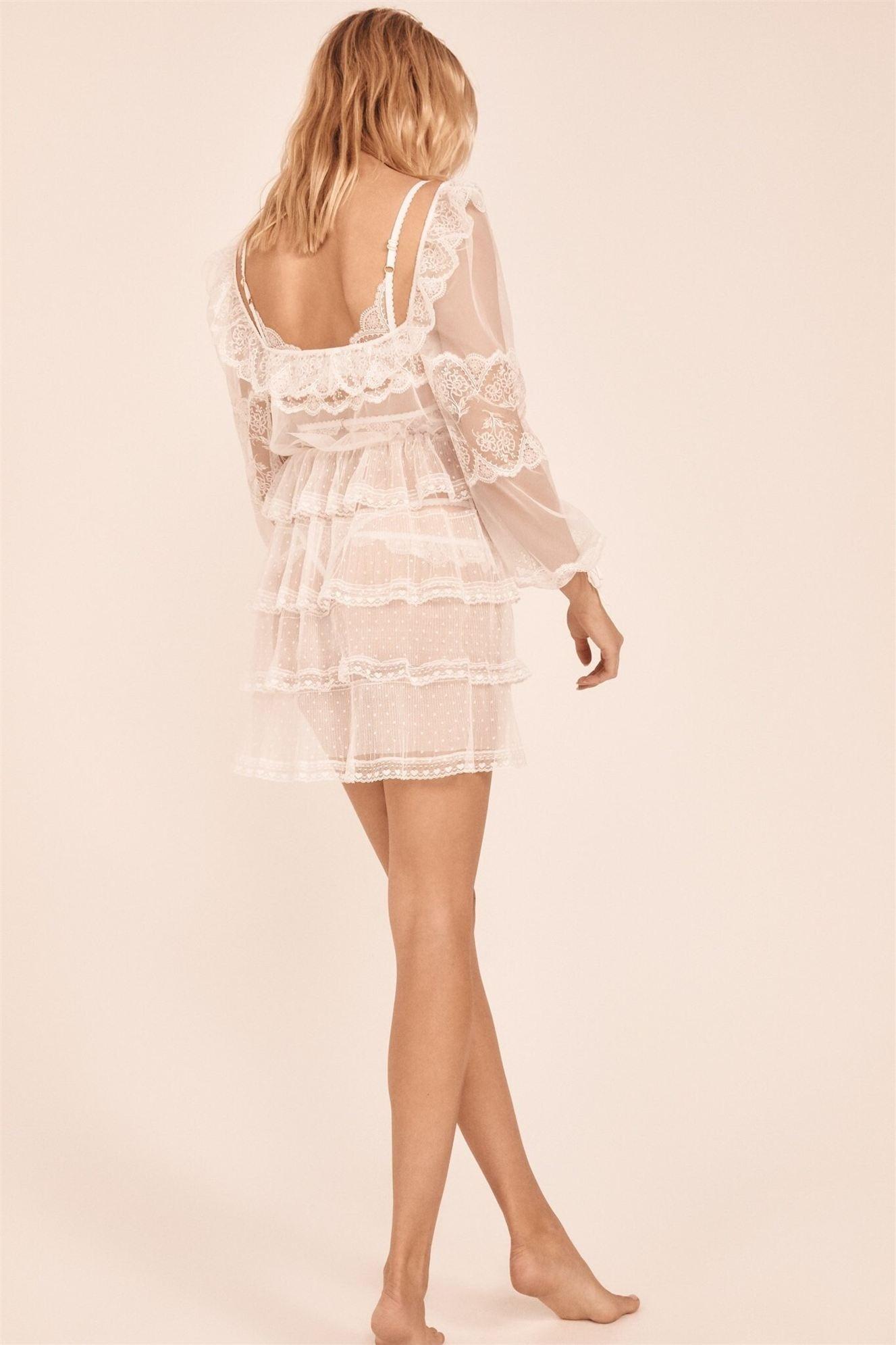 Хейли Клоусон в новой модной коллекции нижнего белья / фото 25