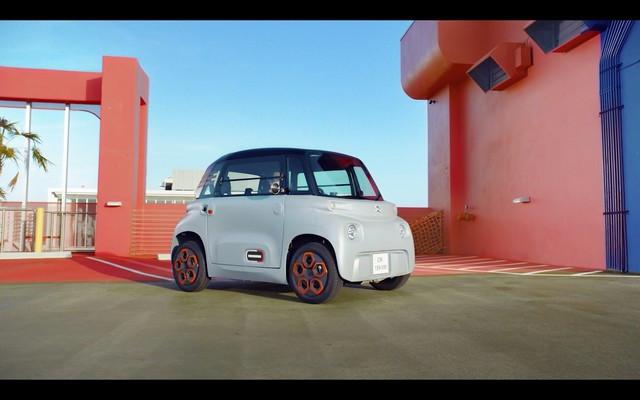 AMI – 100% ËLECTRIC : Citroën Dévoile La Campagne Publicitaire  AMI-Titre
