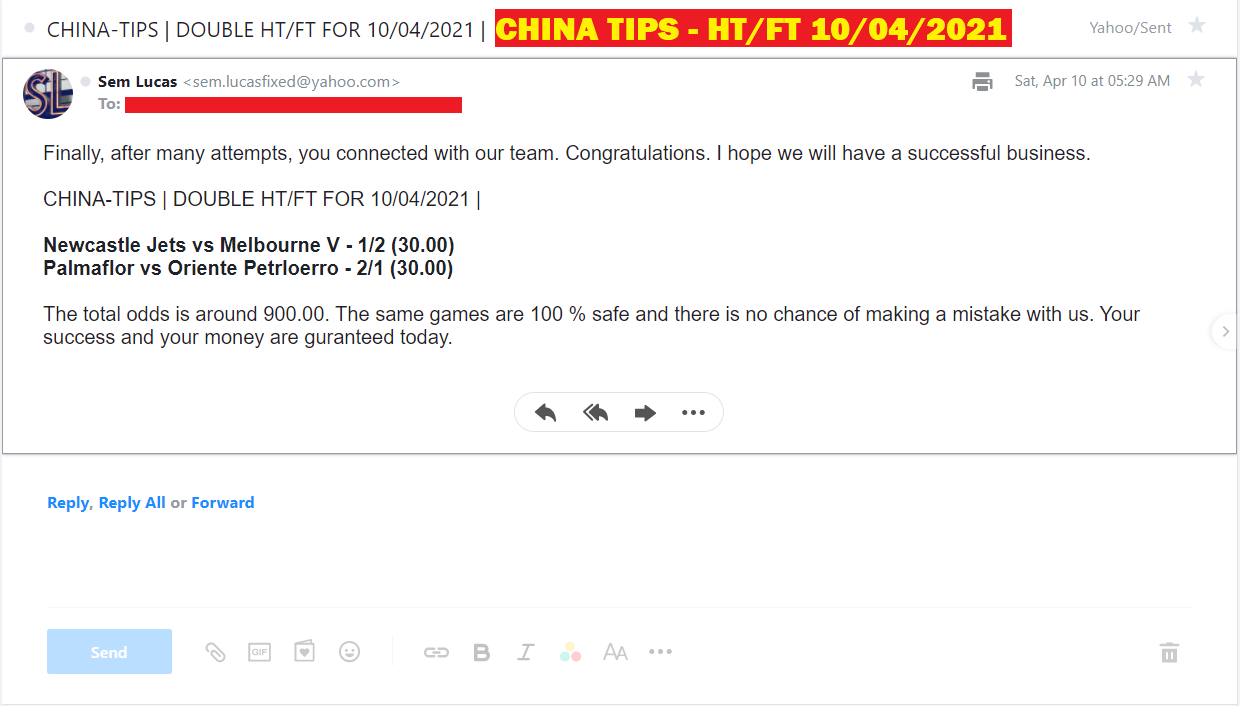 CHINA DOUBLE HT/FT FOR 10.04.2021 | CHINA DOUBLE HT/FT FIXED MATCHES