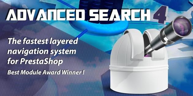 Advanced Search v4.12.9 - PrestaShop Module