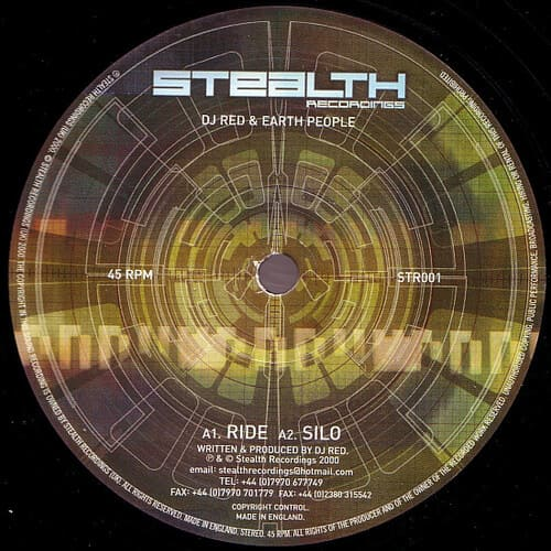 Download DJ Red & Earth People - Ride / Silo mp3