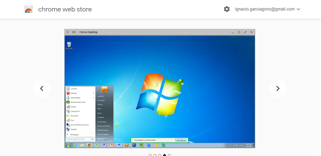 Another of the best alternatives to TeamViewer is the Chrome Remote Desktop