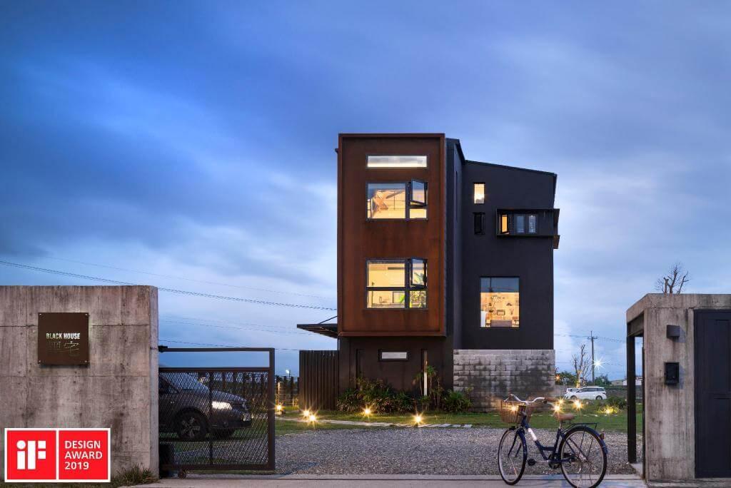 黑宅 建築外觀