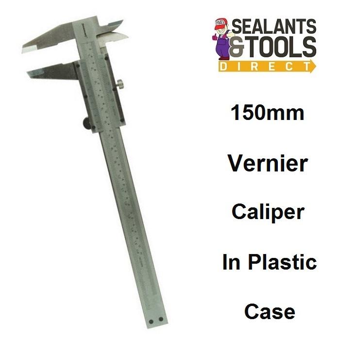 Silverline Vernier Measuring Caliper 150mm 675037