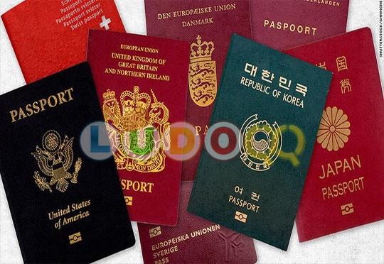 Ini Paspor Paling Sakti di Dunia Paspor apa saja ?