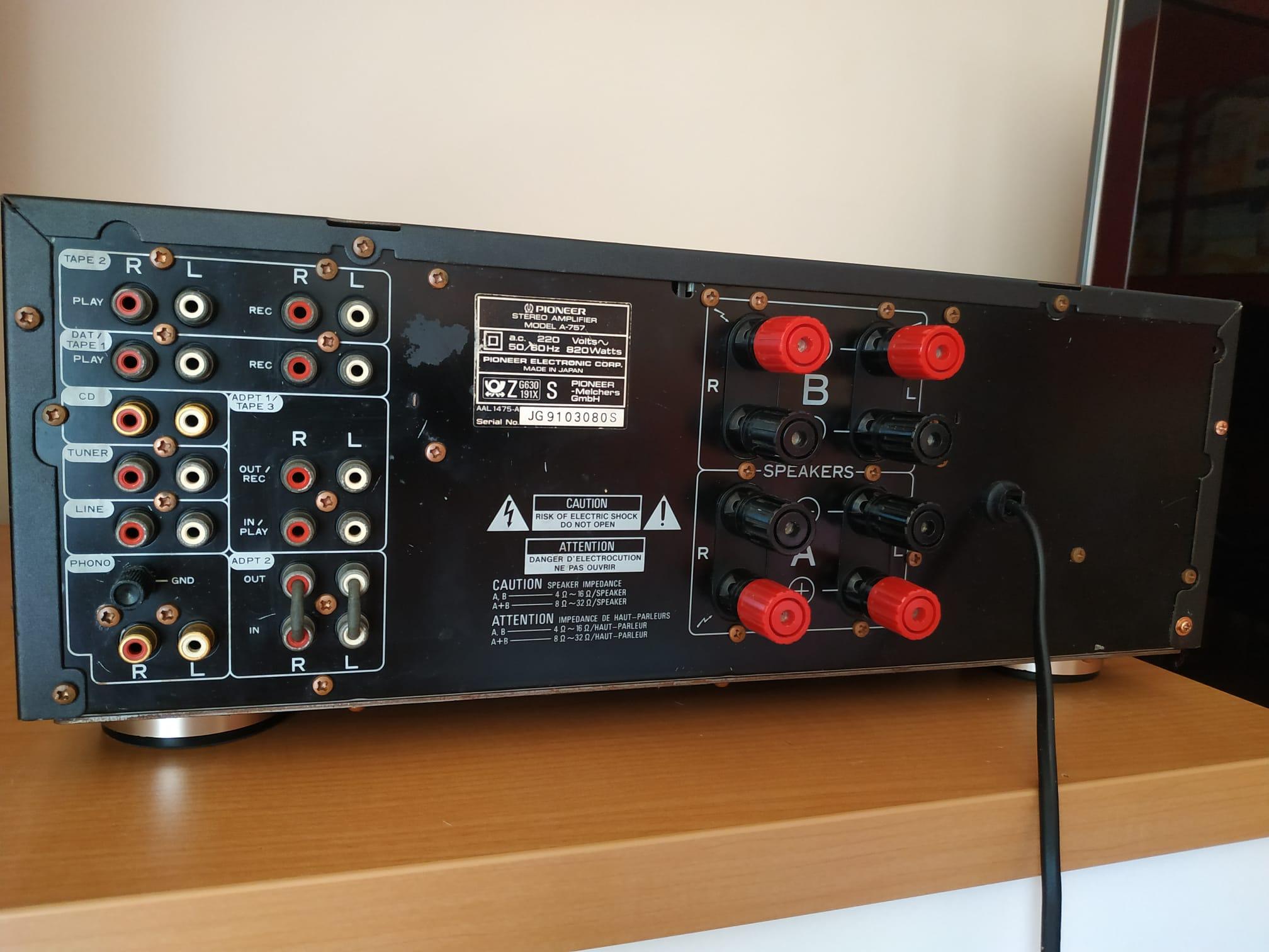 Cambio de Pioneer A-505r por Pioneer A-757 -- lo haríais? 7