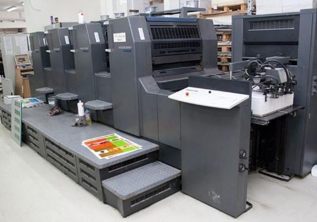 Jenis Mesin Percetakan Kertas