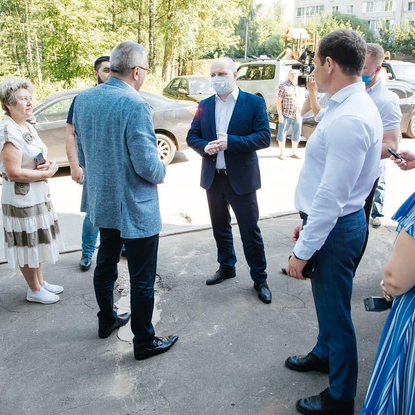 Рабочий визит главы городского округа Пушкинский в Красноармейск