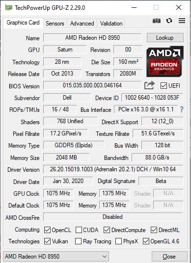 Amd Firepro M6100 Late Rev 46164 Bios Oc Possible Notebookreview