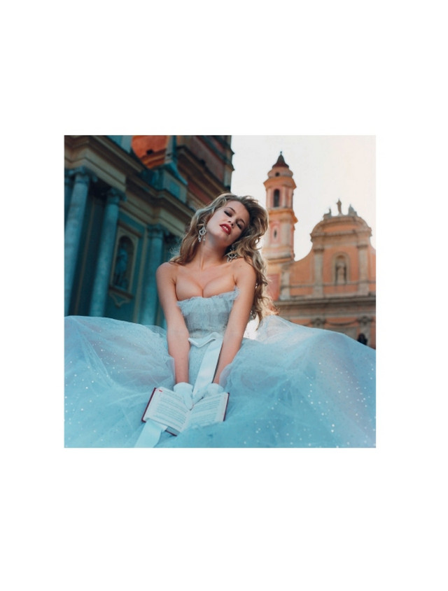 Новая книга Клаудии Шиффер Claudia Schiffer  с фотографиями юности 8