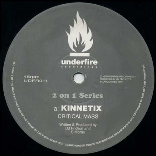 Kinnetix / Kraken - Critical Mass / Warped