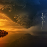 island-during-golden-hour-and-upcoming-storm-1118873