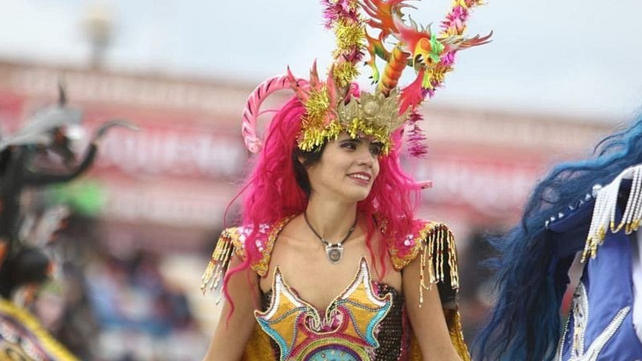 """""""Diablos"""" lideraron en concurso de danzas por la Virgen de la Candelaria"""