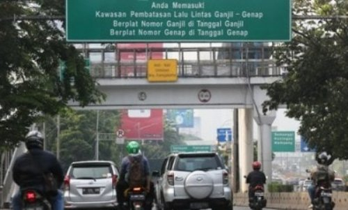 Resmi! Ini 16 Rute Baru Ganjil-Genap di Jakarta