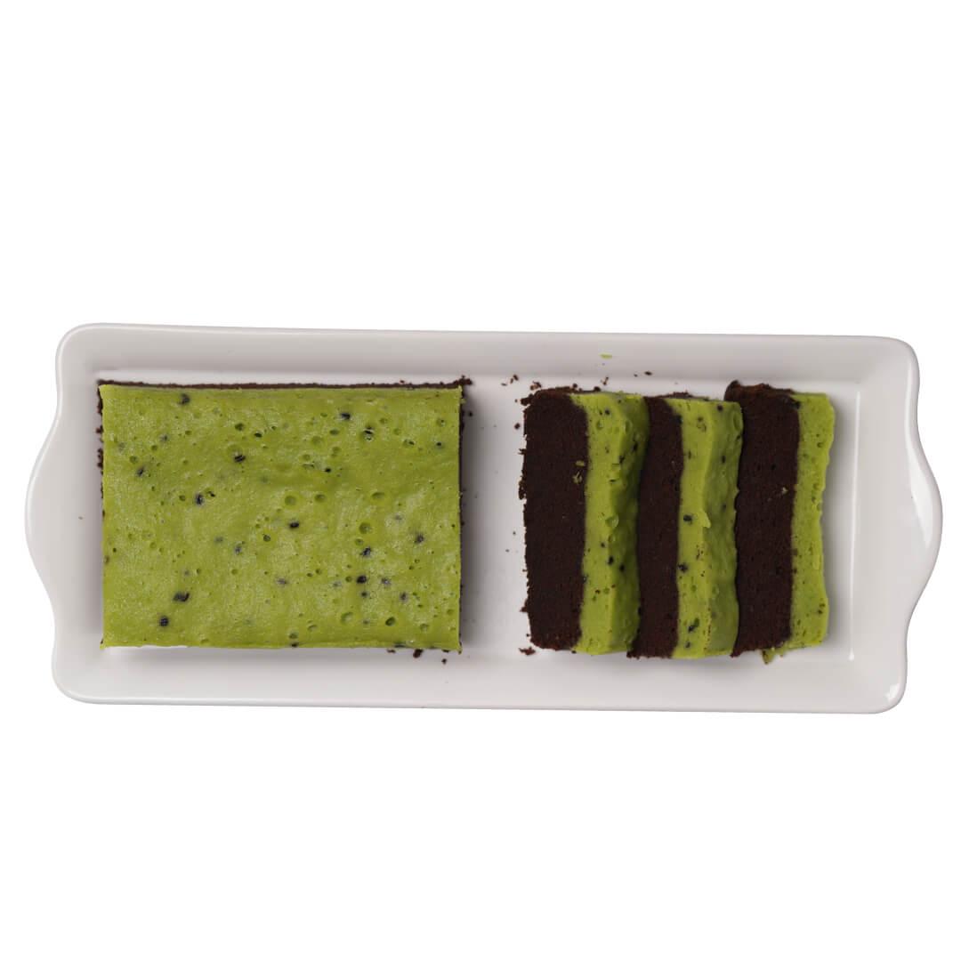 Brownies Sarikaya Pandan