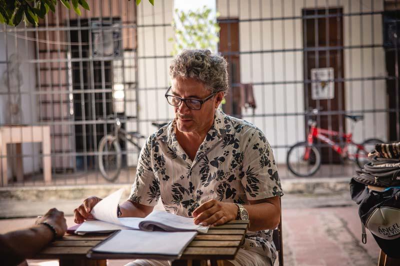 Yuldor Gutiérrez. Imagen: Cine Colombia