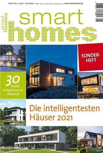 Cover: Smart Homes Magazin für intelligentes Wohnen Sonderheft No 02 2021