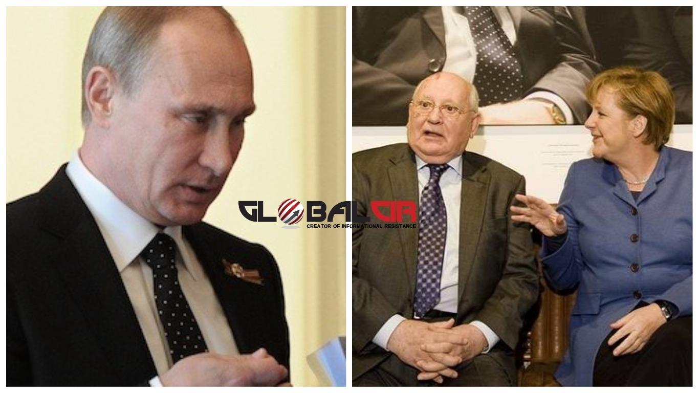 """KOME NIJEMCI DUGUJU DRŽAVU?! Merkelova i Putin čestitali rođendan Gorbačovu: """"Hvala za ujedinjenje Njemačke, s pravom se nalazite u društvu velikih"""""""