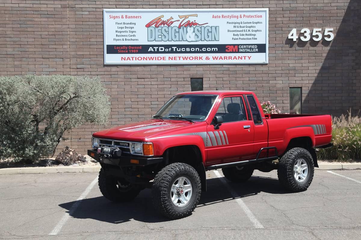 craigslist - Tucson, AZ: 1987 Toyota Pickup Restomod ...