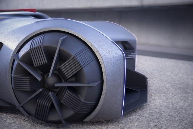 Nissan « GT-R(X) 2050 » : Le Projet D'un Stagiaire Devient Réalité Nis-GTR-2050-15-source