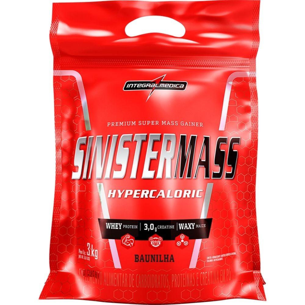 Sinister Mass Hipercalórico Baunilha 3kg Integralmedica
