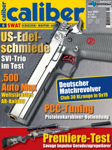 Cover: Caliber Swat Magazin No 06 Juni 2021