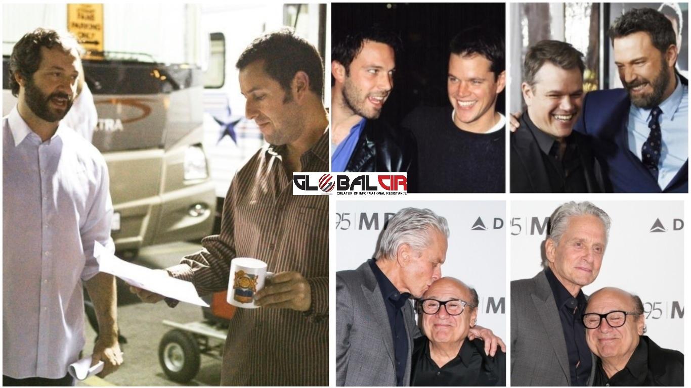 CIMERI KOJI SU OSTALI PRIJATELJI ZAUVIJEK! Ovi glumci su godinama gradili istinsko prijateljstvo