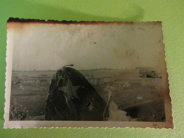 WWII-Original-German-Photo-Combat-Damaged-Russian