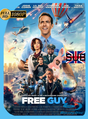 Free Guy: Tomando el Control (2021) HDRip [1080p] Subtitulado [GoogleDrive]