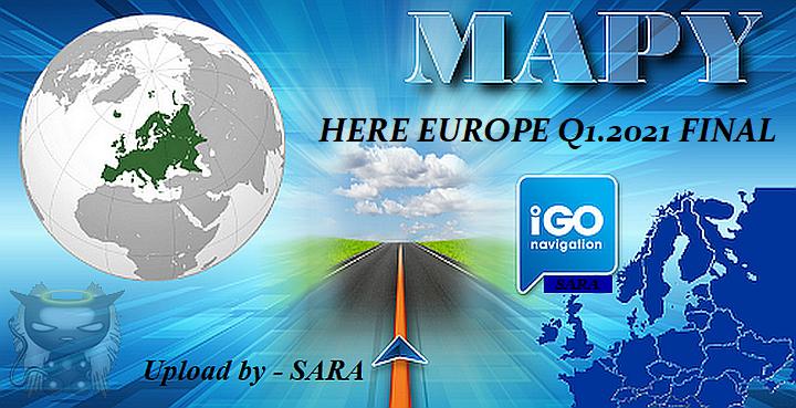iGO HERE EUROPE 2021.Q1 - 07.08.2021 - Dodatki