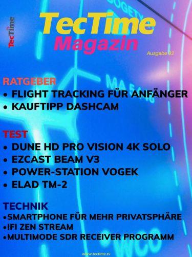 Cover: TecTime Magazin No 32 2021