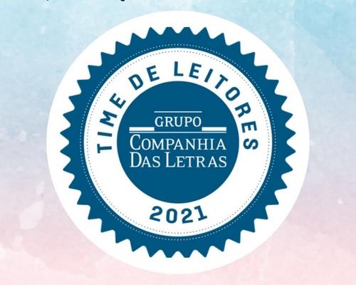 """Agora fazemos parte do """"Time de Leitores"""" do Grupo Companhia das Letras"""