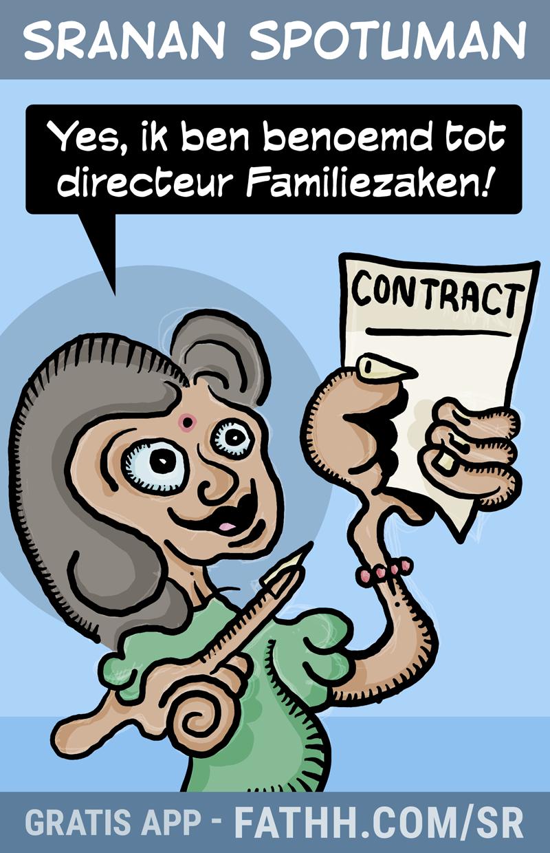Sranan Spotuman : Directeur Familiezaken