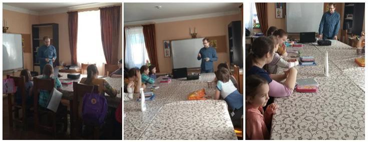 18 апреля в воскресной школе при храме Св. муч.Уара была проведена беседа с учащимися по профилактике коронавирусной инфекции. Беседу провел врач Игнат Сергеевич Крюков