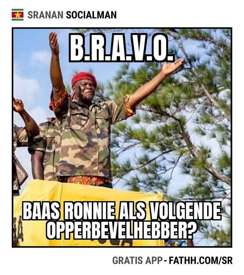 Sranan Socialman : B.R.A.V.O.