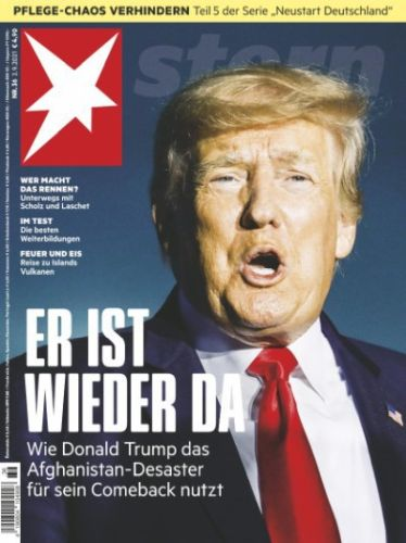 Cover: Der Stern Nachrichtenmagazin No 36 vom 02  September 2021