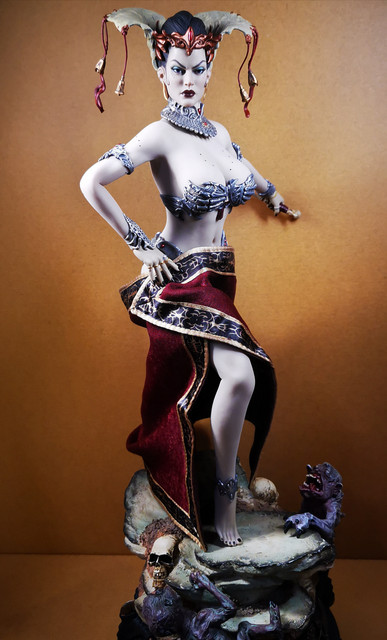 sideshow - NEW PRODUCT: Tbleague x SIDESHOW New: 1/6 Court of the Dead: Gethsemoni The Dead Queen action figure (PL2019-147) 31