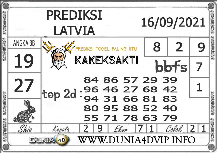Prediksi Togel LATVIA DUNIA4D 16 SEPTEMBER 2021