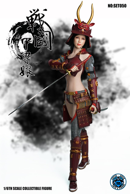 SUPER DUCK New Product:1/6 Sengoku Period Armored Female Warrior SET050 170533vtvcbbb4wj04mmso