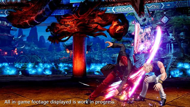 格鬥之王XV Iori Yagami預告片,截圖 The-King-of-Fighters-XV-2021-02-03-21-003