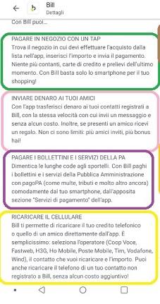 Bill SisalPay Bill (App italiana di SisalPay) €5,00 subito + €5,00 se invitato + €5,00 ogni invito [scadenza 31/07/2021] - Pagina 3 0-Guida-Bill-2