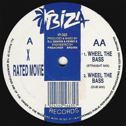 DJ Genisis & Kenny X - X Rated Movie / Wheel The Bass