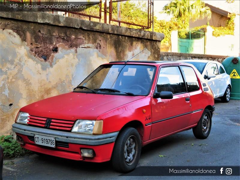 avvistamenti auto storiche Peugeot-205-XS-1-4-83cv-90-CT919796-1