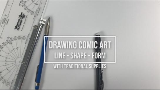 Skillshare – Drawing Comic Art – Understanding Line, Shape, and Form