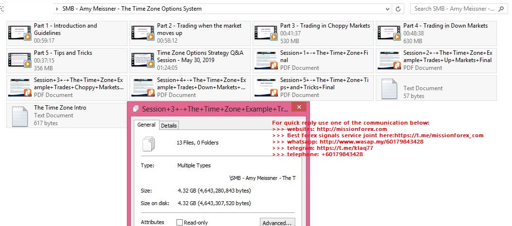 SMB - Amy Meissner - The Time Zone Options System