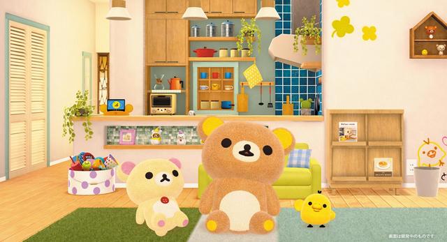Columbia公開了一款「拉拉熊」主題的Switch平台遊戲——《在家拉拉熊》,遊戲預定於11月5日發售,售價稅前5800日元,玩法等詳情預計近日公開。 Image