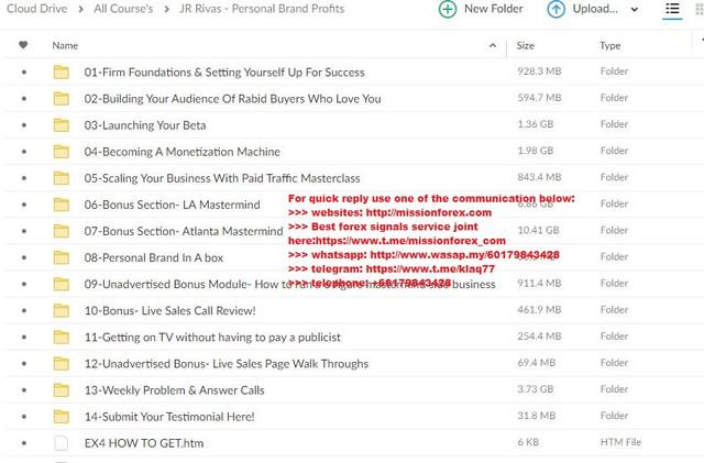 JR Rivas - Personal Brand Profits (Total size: 28.37 GB Contains: 14 folders 90 files).jpg